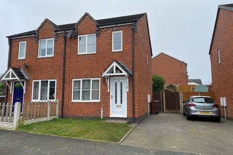2 bedroom semi-detached house for sale - Wrights Avenue, Cannock