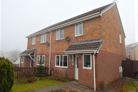 3 bedroom semi-detached house for sale - Hafod View Close, Brynmawr, NP23 4AT