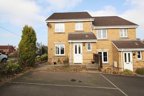 3 bedroom semi-detached house for sale - Gelli Ddaear Goch, Llanharry, Pontyclun, Rhondda, Cynon, Taff. CF72 9WE