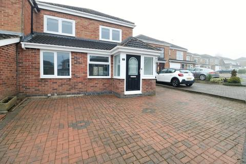 4 bedroom semi-detached house for sale - Malvern Crescent, Ashby-de-la-Zouch