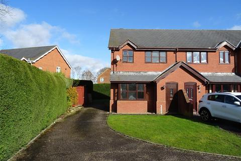 3 bedroom semi-detached house for sale - Ferndale Close, Four Crosses, Llanymynech, Powys, SY22
