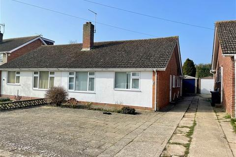 2 bedroom semi-detached bungalow for sale - Quantock Road, Worthing, West Sussex, BN13 2HQ