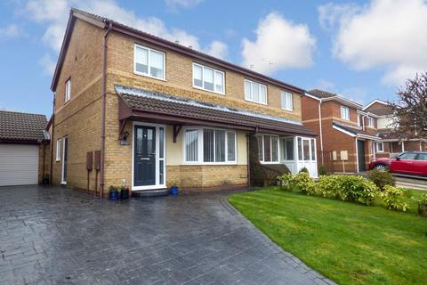 3 bedroom semi-detached house for sale - Barnard Close, Bedlington, Northumberland, NE22 6NE
