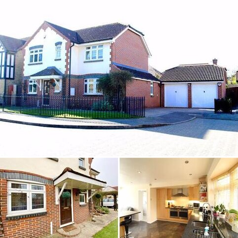 4 bedroom detached house for sale - Hunters Close, Bexley