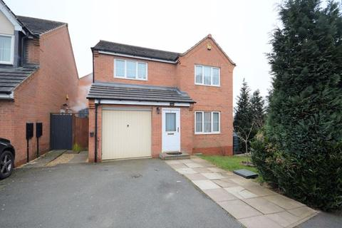 4 bedroom detached house for sale - Lowry Close, Corby