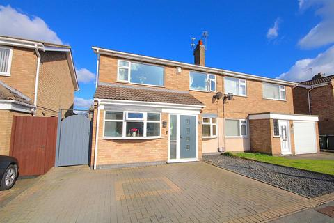 4 bedroom semi-detached house for sale - Tinkers Dell, East Goscote
