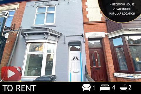 4 bedroom end of terrace house to rent - Fosse Road North, Leicester, LE3