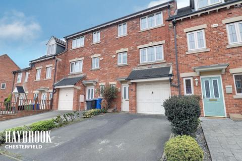 4 bedroom townhouse for sale - Martindale Close, Chesterfield