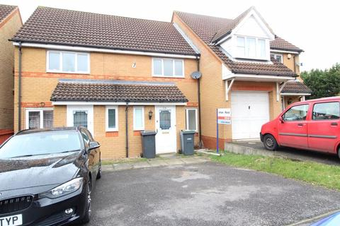 2 bedroom terraced house for sale - CHAIN FREE on Dunraven Avenue, Luton