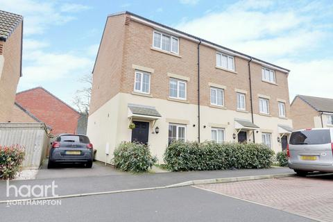 4 bedroom end of terrace house for sale - Damselfly Road, Northampton