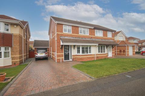 3 bedroom semi-detached house for sale - John Howe Gardens, Hartlepool
