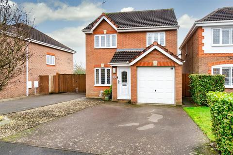 3 bedroom detached house for sale - Burrows Close, Narborough.