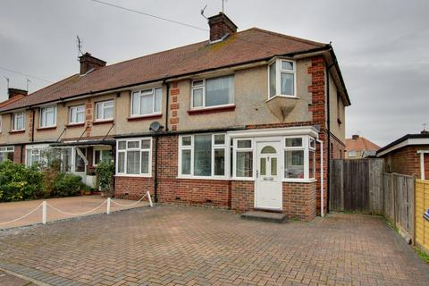 3 bedroom end of terrace house for sale - Fletcher Road, Worthing, BN14