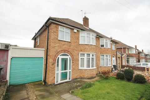 3 bedroom semi-detached house for sale - Lynmouth Road, Leicester