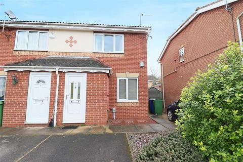 2 bedroom end of terrace house for sale - Canon Tardrew Court, Hessle