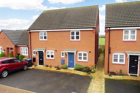 2 bedroom semi-detached house for sale - Eady Drive, Market Harborough