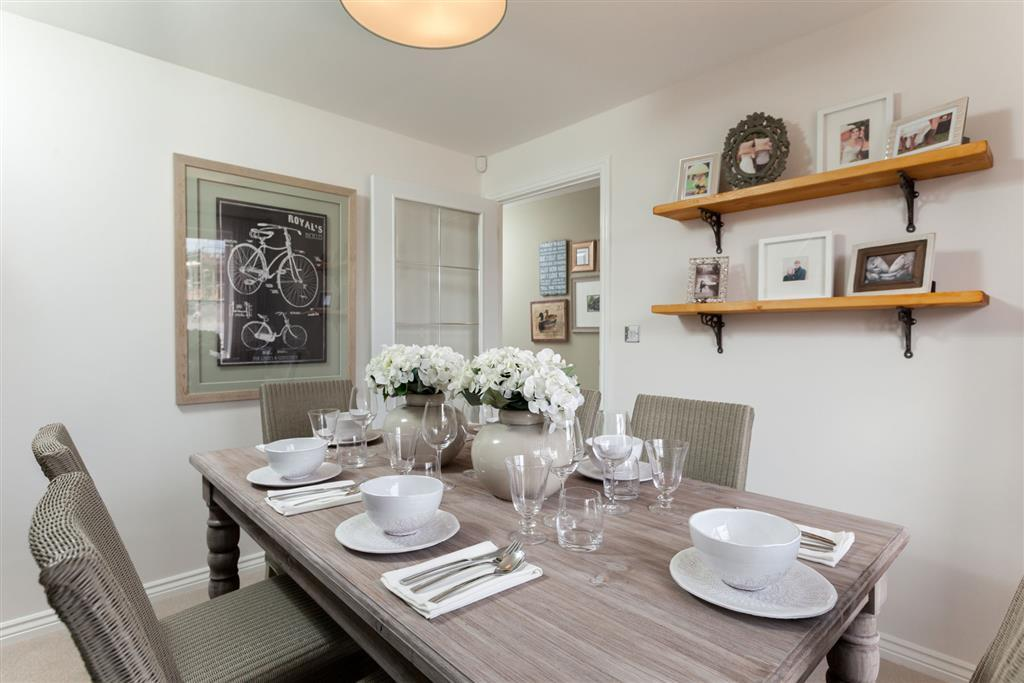 Dining area for all occasions