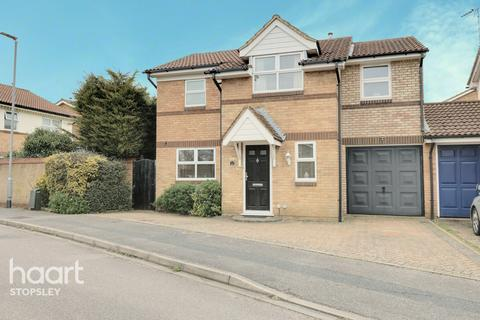 4 bedroom detached house for sale - Brierley Close, Luton