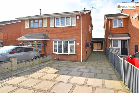 2 bedroom semi-detached house for sale - Galsworthy Road, Longton, ST3 5UB
