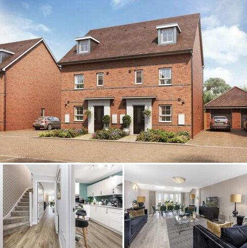 4 bedroom semi-detached house for sale - Plot 123, Woodcroft at Eldebury Place, Hanworth Lane, Chertsey, CHERTSEY KT16