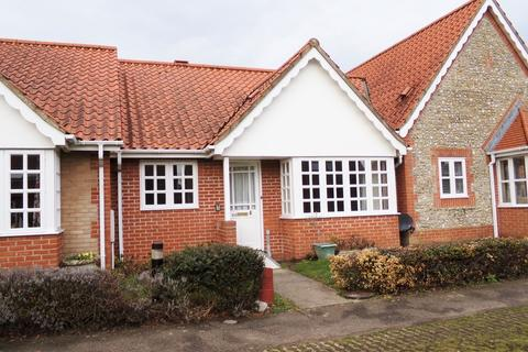 2 bedroom terraced bungalow for sale - The Beeches, Station Road, Holt