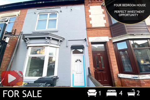 4 bedroom terraced house for sale - Fosse Road North, Leicester, LE3