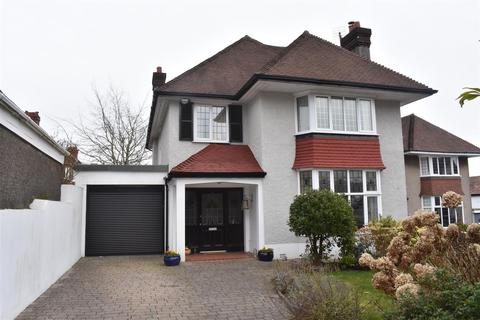 4 bedroom detached house for sale - Parc Wern Road, Sketty, Swansea