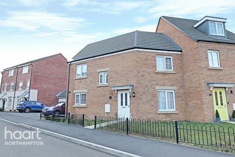 3 bedroom semi-detached house for sale - Damselfly Road, Northampton