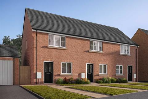 2 bedroom terraced house for sale - Plot 35, The Harcourt at Cayton Reach, The Boulevard, Middle Deepdale, Scarborough YO11