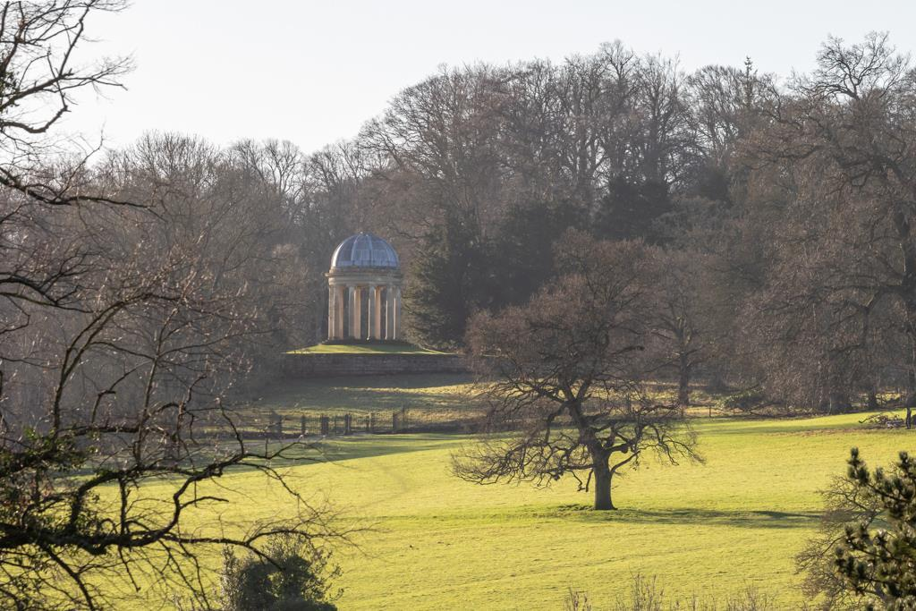 Classical landscape view