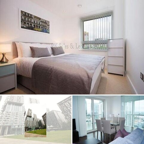 1 bedroom in a flat share to rent - Talisman Tower, 6 Lincoln Plaza, London E14