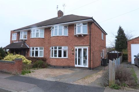 3 bedroom semi-detached house for sale - Dale Avenue, Wigston