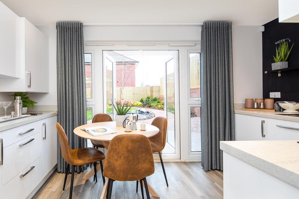 Kenley Kitchen Diner with French doors to the garden