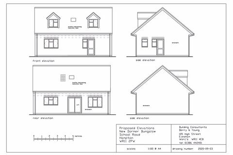 2 bedroom property with land for sale - School Road, Hampton, WR11 2PW