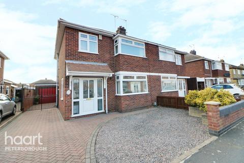 3 bedroom semi-detached house for sale - Desborough Avenue, Peterborough
