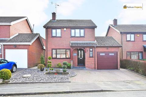 3 bedroom detached house for sale - Tudor Hollow, Fulford, ST11 9NP