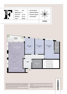 3 bedroom apartment - Forbes, GIbraltar, GX111AA, Gibraltar