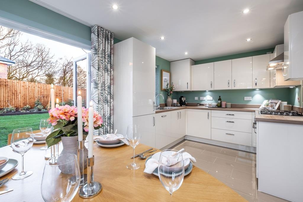 Interior view of our 3 bed Moresby kitchen