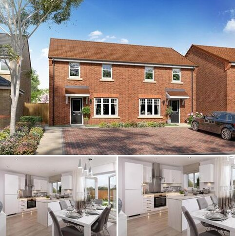 3 bedroom semi-detached house for sale - Plot 60 - The Hewick (High Gables) at High Gables, Yapham Road, Pocklington, York YO42