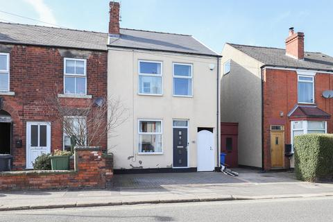 3 bedroom end of terrace house for sale - Old Hall Road, Brampton, Chesterfield