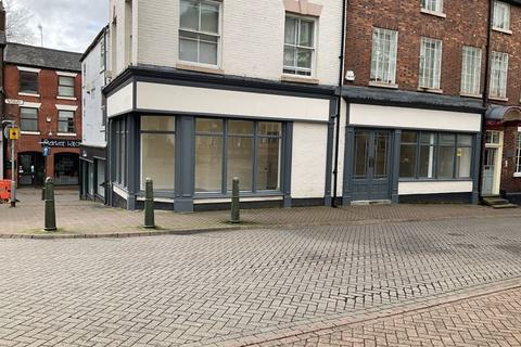 Retail property (high street) to rent - Market Place, Leek