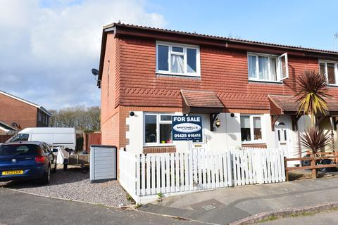 2 bedroom semi-detached house for sale - Stag Close, New Milton