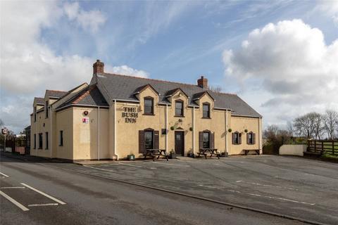 Restaurant for sale - The Bush Inn, Llandissilio, Pembrokeshire, SA66