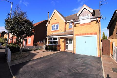 4 bedroom detached house for sale - Woodrow Way, Red Street, Newcastle