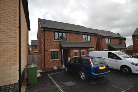 2 bedroom semi-detached house for sale - Troon Close, Corby