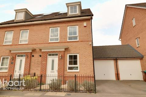 3 bedroom semi-detached house for sale - Breconshire Gardens, Basford