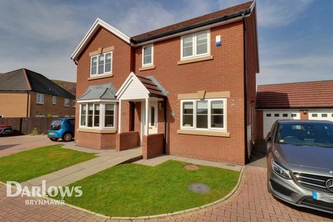 4 bedroom detached house for sale - Copper Beech Drive, Tredegar