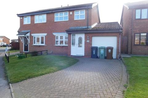 3 bedroom semi-detached house for sale - ASHWOOD CLOSE, CLAVERING, HARTLEPOOL