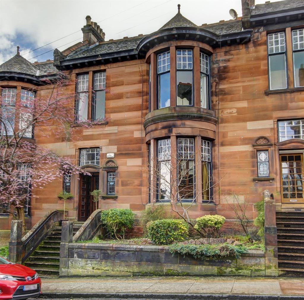 Sandstone house in Glasgow