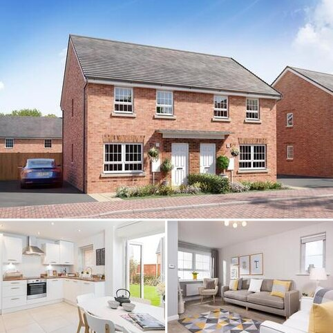 3 bedroom semi-detached house for sale - Plot 97, Maidstone at Clipstone Park, Sagan Rise off Leighton Road, Leighton Buzzard, LEIGHTON BUZZARD LU7